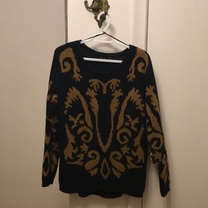 Dex Baroque Style Knitted Sweater